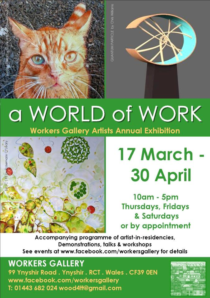 World of Work Workers Gallery Poster