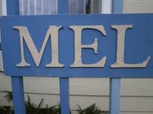 Mel in the Melin